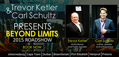 Beyond Limits Road Show by Trevor Ketler & Carl Schultz